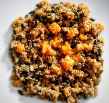 Squash, Kale & Quinoa Stew