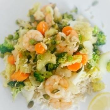 Prawn & Vegetable Stir Fry