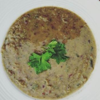 Leek & Kidney Bean Soup
