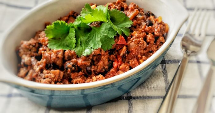 Beef & Black Bean Chilli