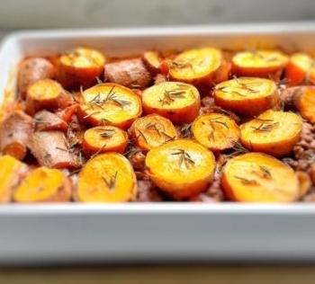 Lamb & Sweet Potatoe Pie