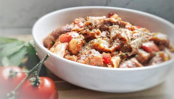 Sausage & Vegetable Pasta