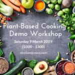 Plant-based Food Cooking Demo Workshop