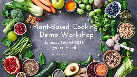 Plant-based Food Cooking Demo Workshop