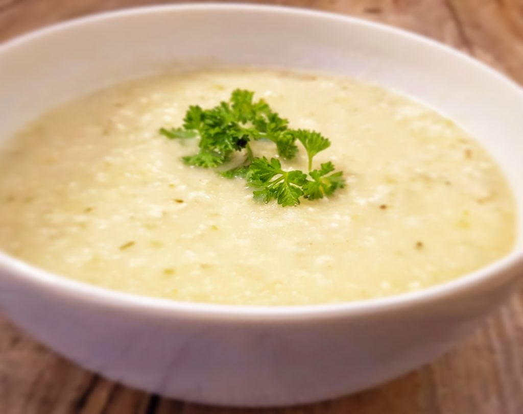 Creamy Vegan Celery Soup Recipe