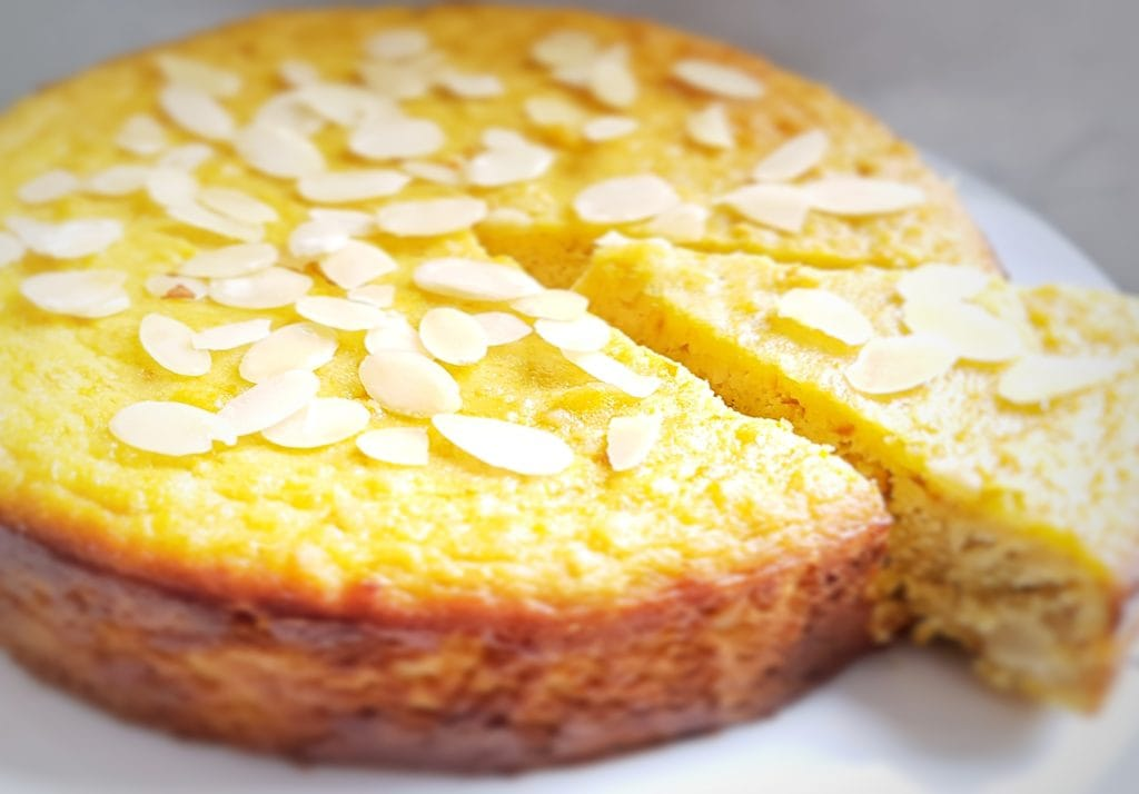 Healthy Clementine Cake with Almond Flour (Gluten-Free)