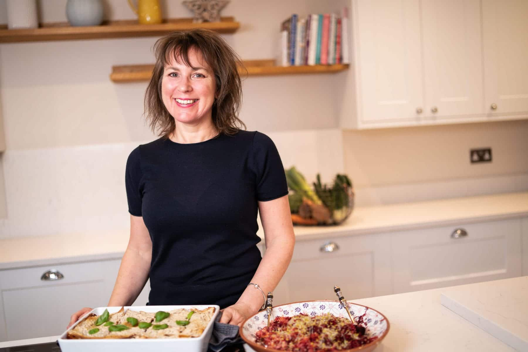 Gut Health Plan Kitchen with a healthy meal