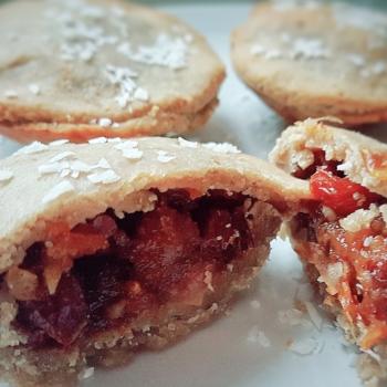 vegan mince pies filling
