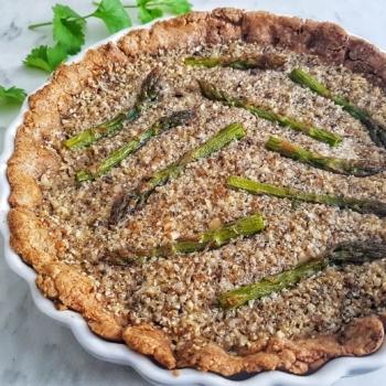 Vegan Quiche With Asparagus Recipe