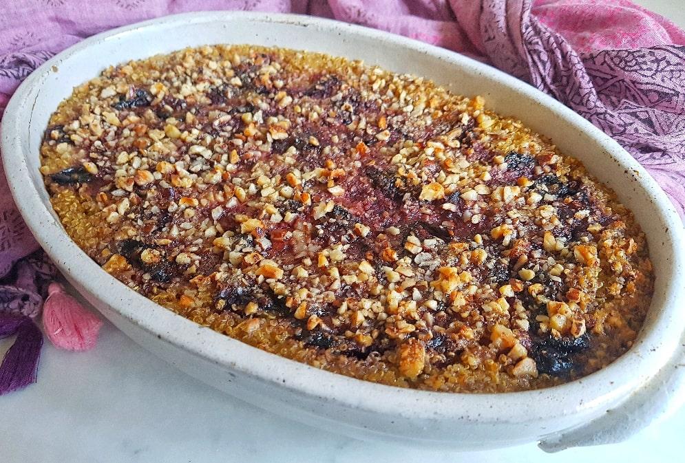 Healthy Plum Bake Recipe