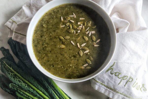 Detoxifying Green Soup Recipe