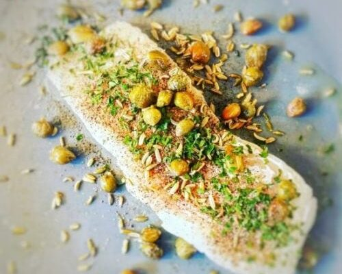 Fish With Capers & Fennel Seeds
