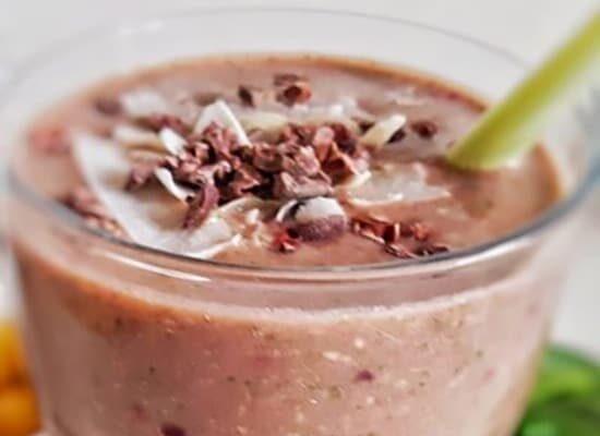 Healthy-Blackberry-Apple-Spinach-Smoothie-Recipe