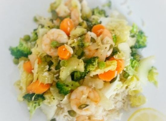 Prawn & Vegetable Stir Fry
