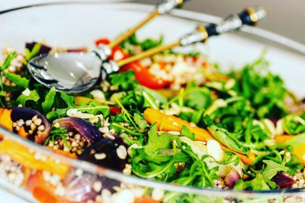 Roast Vegetable & Buckwheat Salad