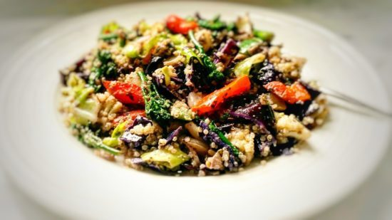Stir Fried Vegetables With Quinoa