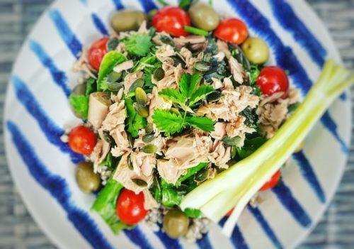 Tuna & Buckwheat Salad