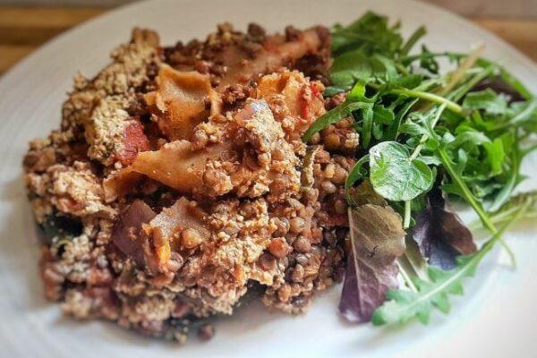 Lentil & Seaweed Vegan Lasagne